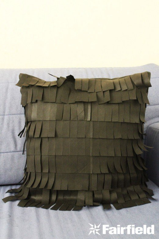 Oly*Fun Fringe Pillow