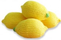 Lemon Stress Ball Knit By Twinkie Chan