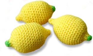 Lemon Stress Ball Crochet