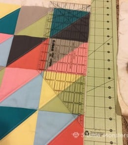 quilt and trim