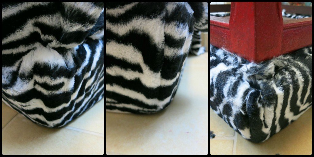 zebra table corner