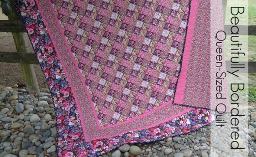 Beautifully Bordered - Simple Queen-Sized Quilt Pattern