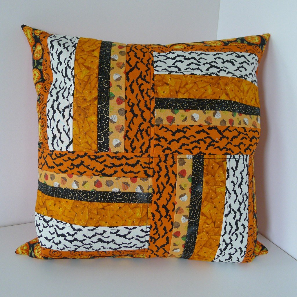 Scrappy Halloween Pillow 037