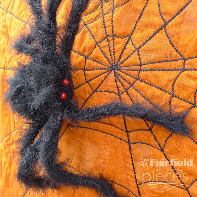 Reversible Spider Web Quilt
