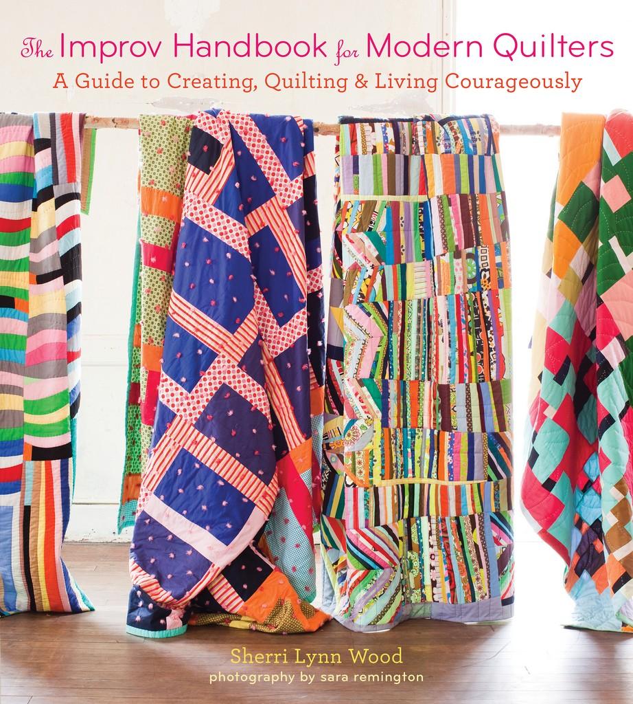 Improv Handbook for modern Quilting Sew Ruler Free