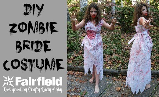 DIY Zombie Bride Costume