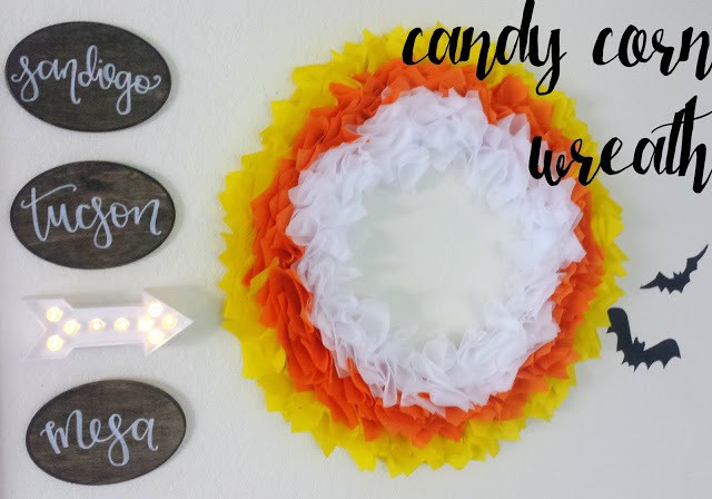 candy corn wreath olyfun