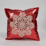 Holiday Accent pillow with rosegold olyfun