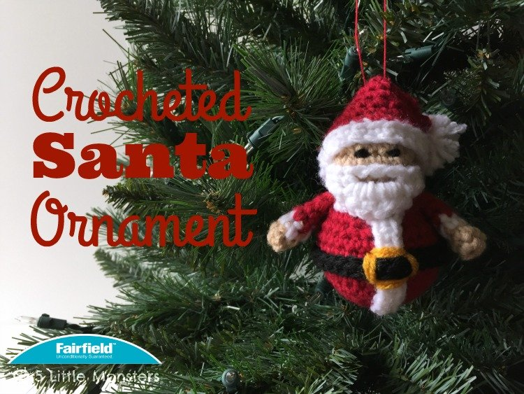 Crocheted Santa Ornament