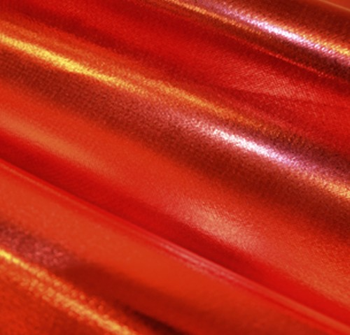 Oly-Fun™ Metallic 10 Yard Bolt Red