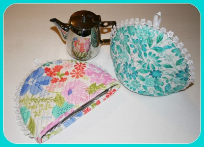 Personal Tea Pot Covers with Solarize
