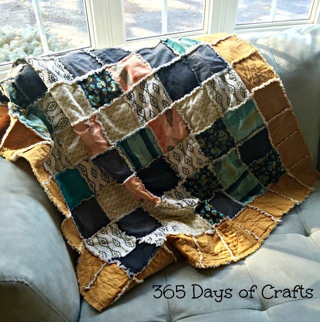 Rag Quilt Project Linus Lukes Loves
