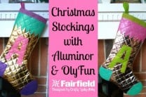 Christmas Stockings with Aluminor and OlyFun