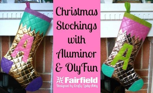 Christmas Stockings with Aluminor and OlyFun