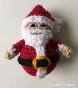 crocheted santa