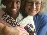Fairfield donates to Quilts Beyond Borders