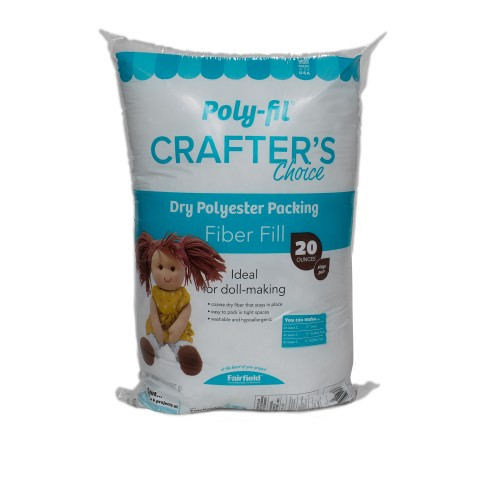 Poly-Fil® Crafter's Choice® Dry Packing Fiber Fill 20 ounce Bag