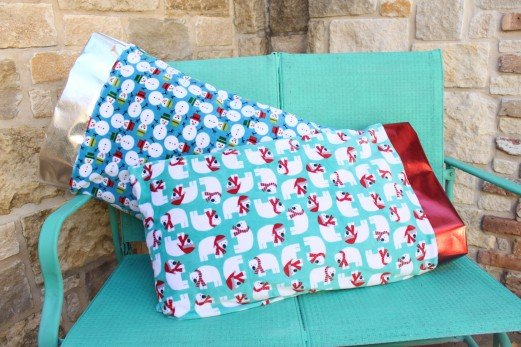 Make Cuddly Soft Pillowcases for Christmas