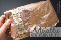 Metallic New Years Clutch