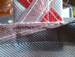 Metallic OlyFun Reusable Gift Bag and Tag 11