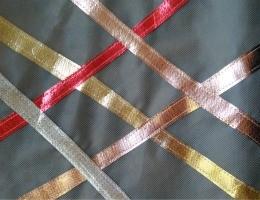 Metallic OlyFun Reusable Gift Bag and Tag 2