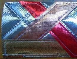 Metallic OlyFun Reusable Gift Bag and Tag 3