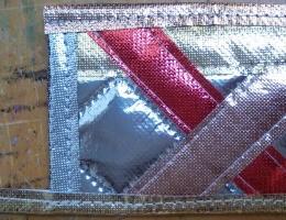 Metallic OlyFun Reusable Gift Bag and Tag 5