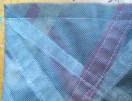 Metallic OlyFun Reusable Gift Bag and Tag 6