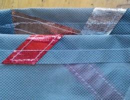 Metallic OlyFun Reusable Gift Bag and Tag 7