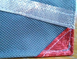 Metallic OlyFun Reusable Gift Bag and Tag 9