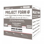 Project Foam –  24″ x 4 Yds. x 2″ thick