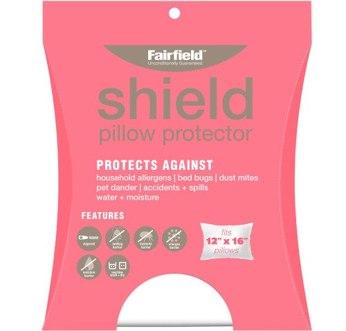 Shield Pillow Protection Cover 12″ x 16″