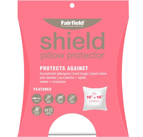 Shield Pillow Protection Cover 16″ x 16″