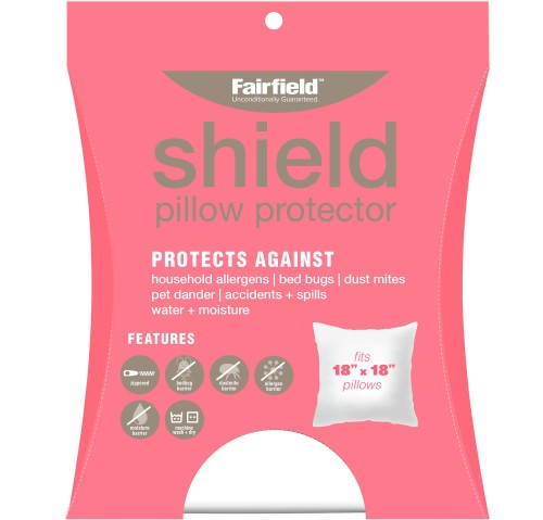 Shield Pillow Protection Cover 18″ x 18″