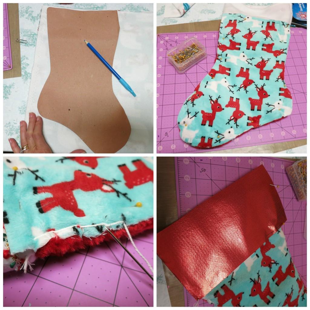 blanket stitch stocking