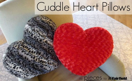 Cuddle Heart Pillows - Valentine Pillows