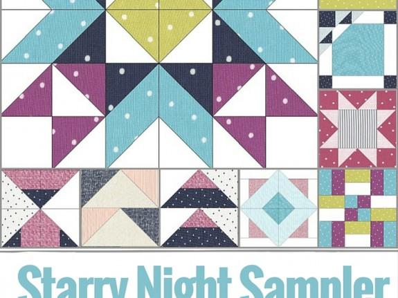 Starry Night Sampler Block Snapshot