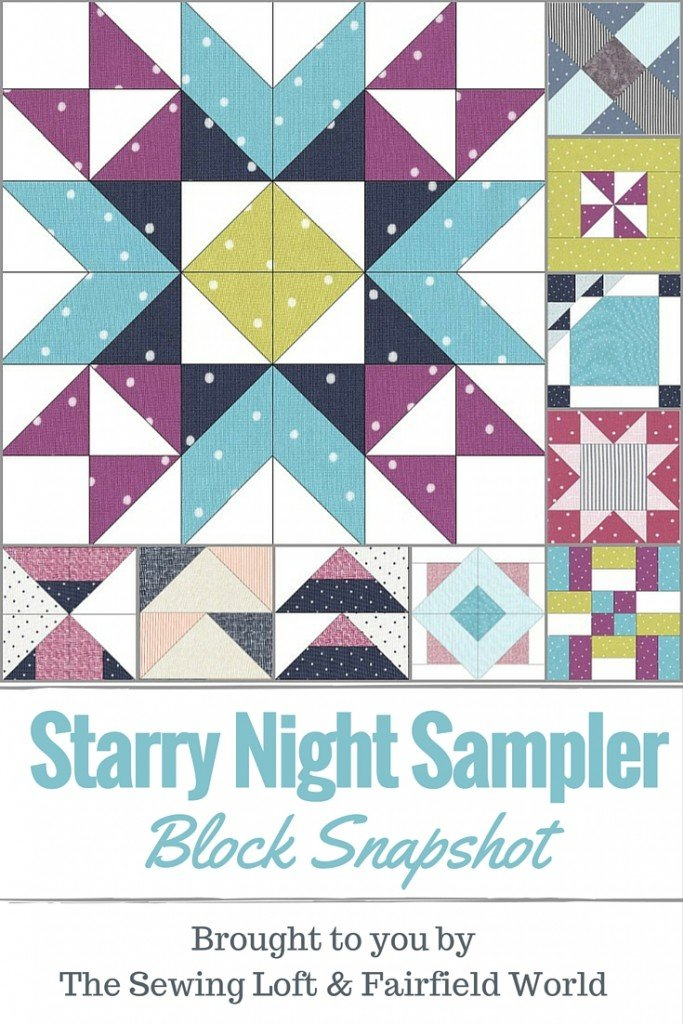 Starry Night Sampler Block of the Month