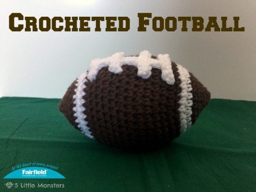 Crocheted Football