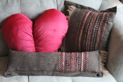Anthropology Inspired Fringe Pillow