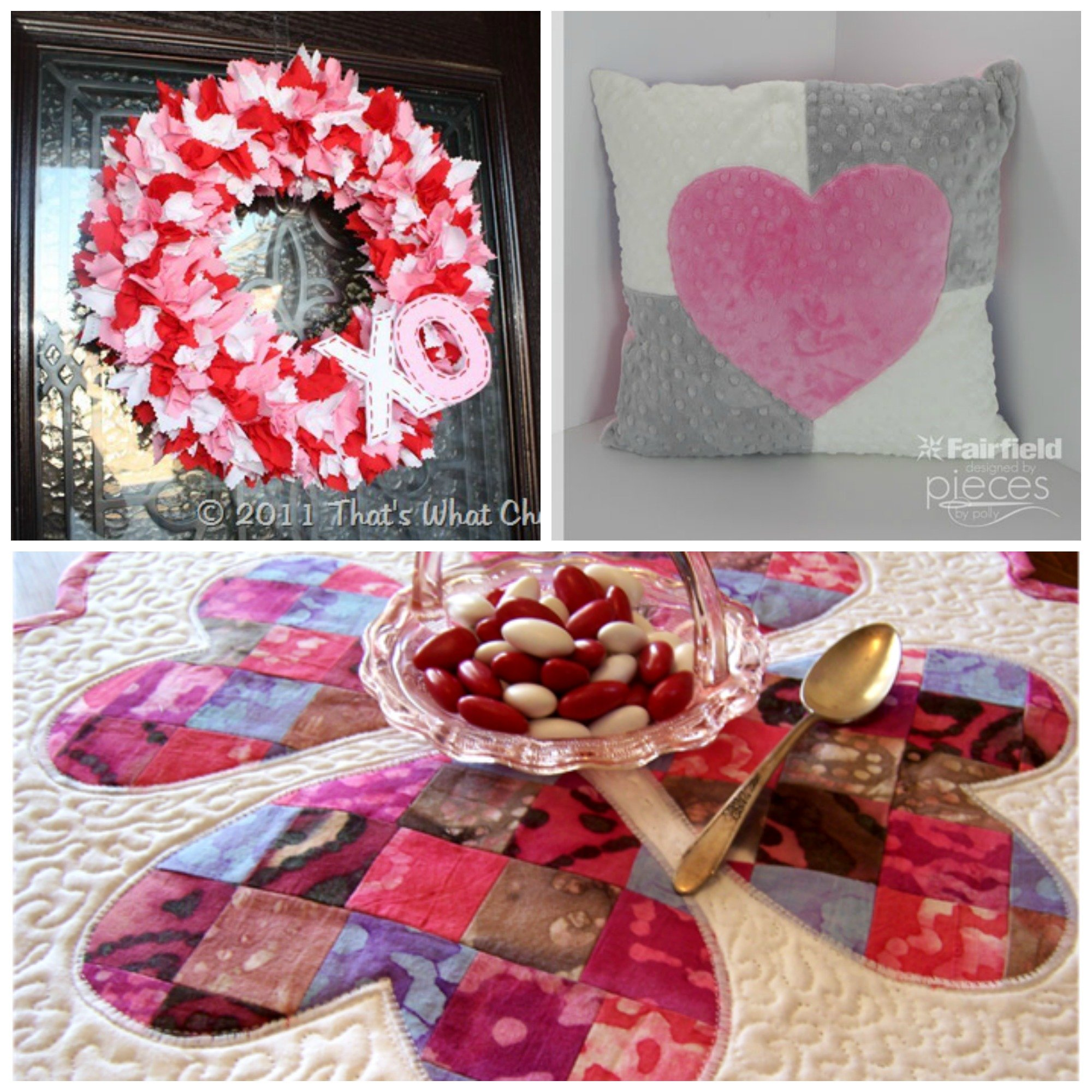 25 fabric valentine projects you can make fairfield world blog