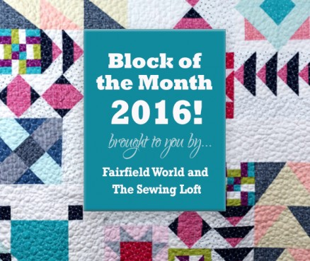 Block of the Month 2016