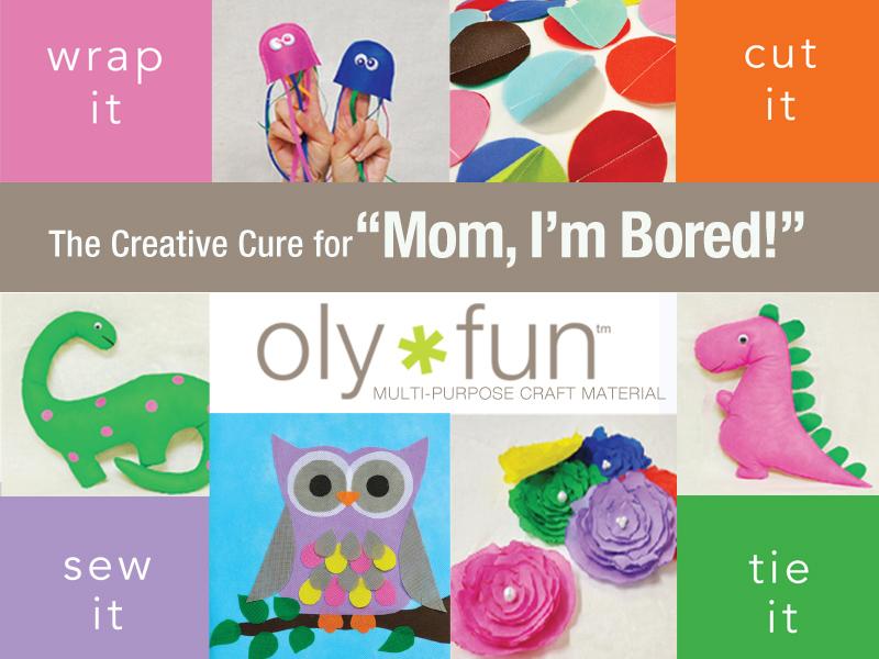 Olyfun craft sheet boredom buster ideas