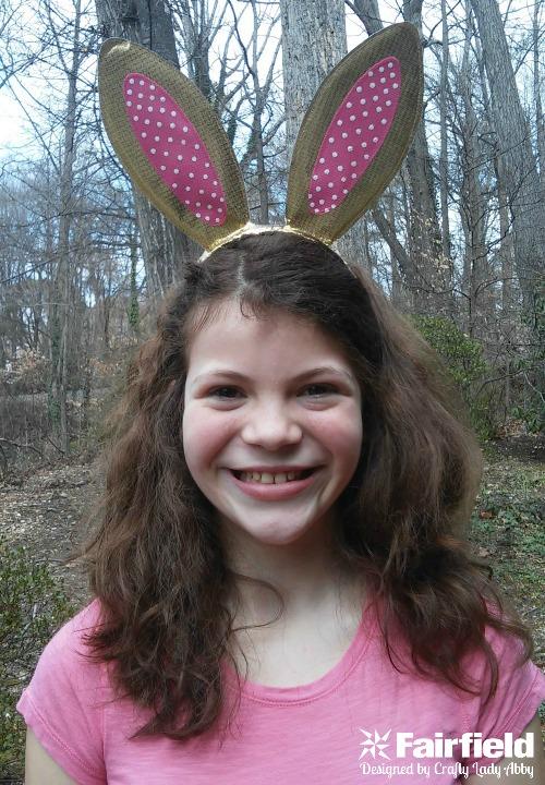 Gold Easter Bunny Rabbit Ears Headband 9