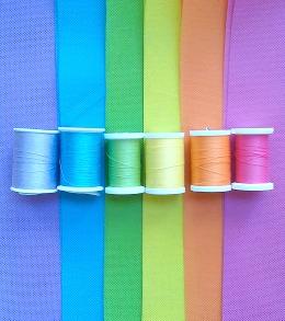 OlyFun Dress Up Rainbow Bustle 1