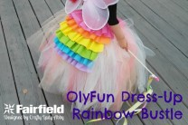 OlyFun Dress Up Rainbow Bustle