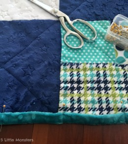 binding cuddle quilt