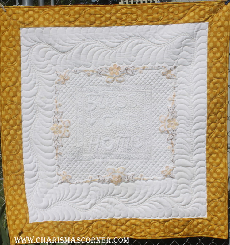 Unbelievable Quilted Vintage Tablecloth Makeover - Fairfield World Blog