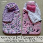Reversible Doll Sleeping Bag