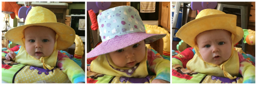 Explorer Baby Hats with Structure